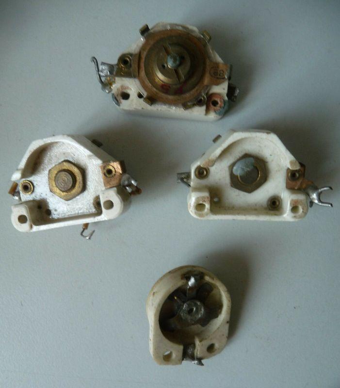 14 Bauteile Ersatzteile Kondensatoren für Uralt-Radios Bastlerware 2