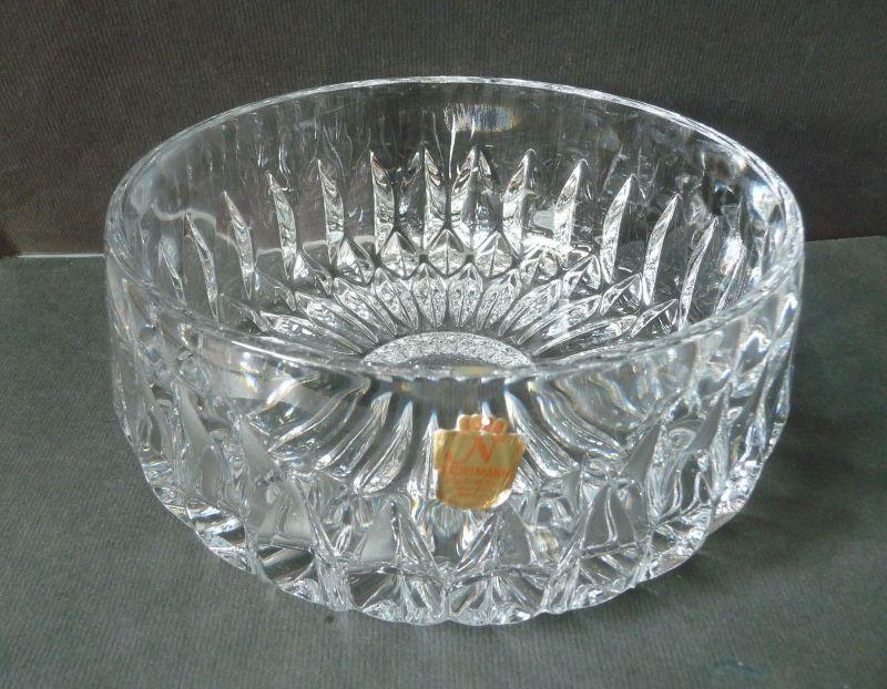 Schale Bleikristall Kristallglas Nachtmann