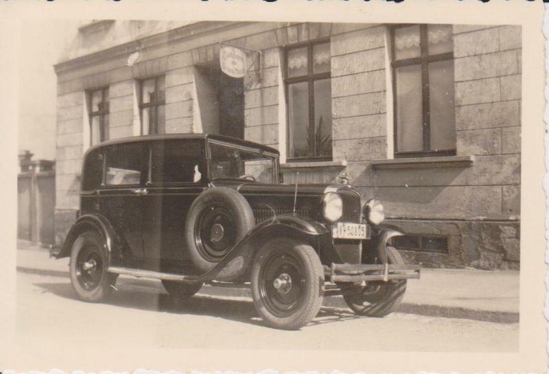Orig. Foto Oldtimer Sachsen Zwickau ca. 1930