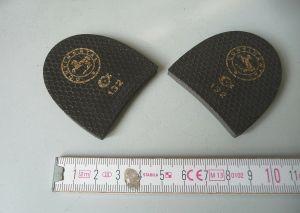 Paar Polsterflecke Absatzflecke Nr. 132 Continental Schusterbedarf