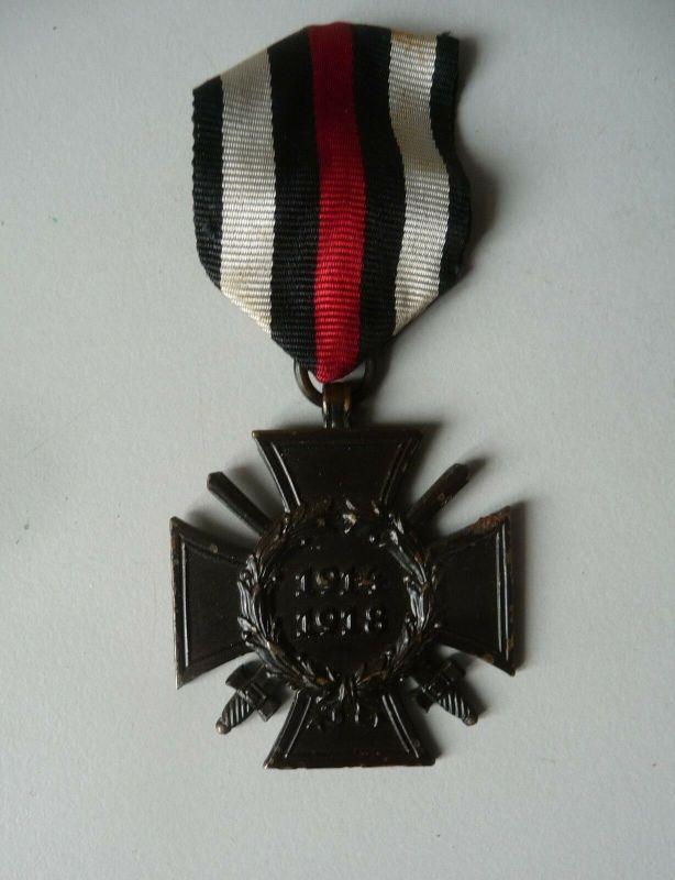 Ehrenkreuz des Weltkrieges Frontkämpfer am Band / R.V. Pforzheim