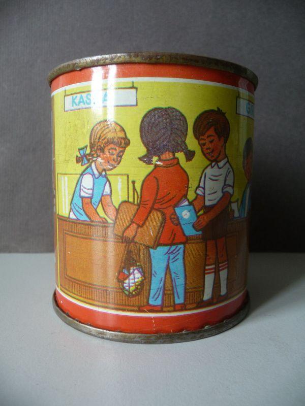 Blechdose Sparbüchse Kinderbank DDR