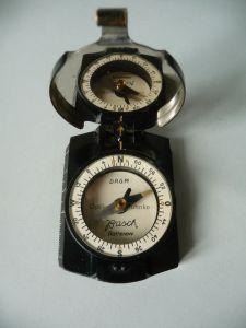Kompass Feldkompass Fa. Busch Rathenow DRGM