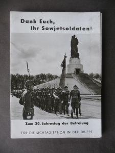 Foto-Serie 9 Fotos Agitation DDR