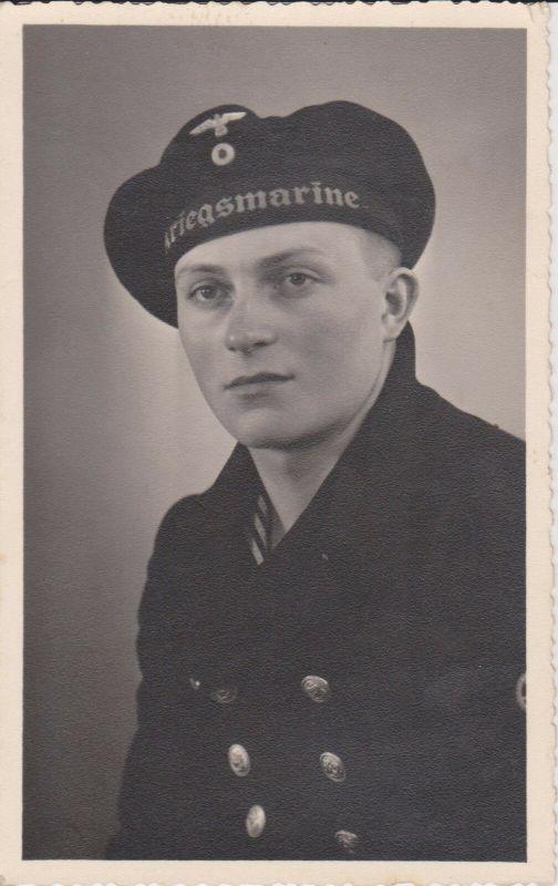 Orig Foto Porträt Matrose Kriegsmarine WKII (3)
