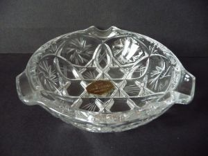 Aschenbecher aus Bleikristall Glas