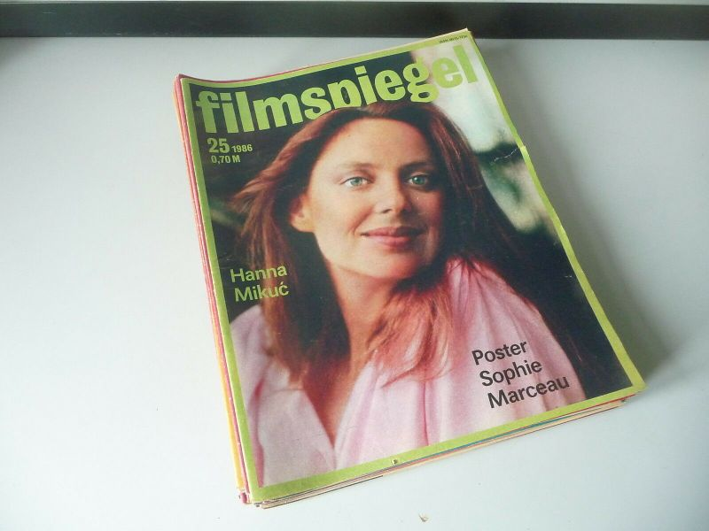 36 Ausgaben Filmspiegel Filmzeitschrift DDR 1982 - 1988 1