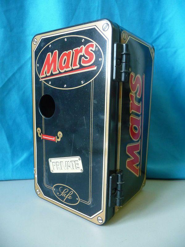 Blechdose modern / Spardose Safe  Mars Schokoriegel