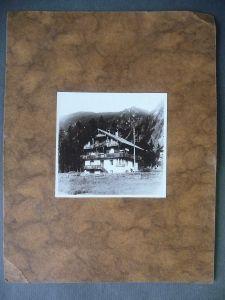 Orig. Foto Pension Bauernhof Mayrhofen Zillertal Tirol 1927