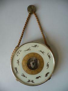 Barometer mit Tierkreiszeichen Fa. Förster