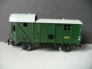 Güterwagen Gepäckwagen SNCF / Piko Spur H0