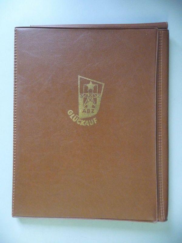 Aktenmappe Mappe Umschlag ABZ Glückauf DDR