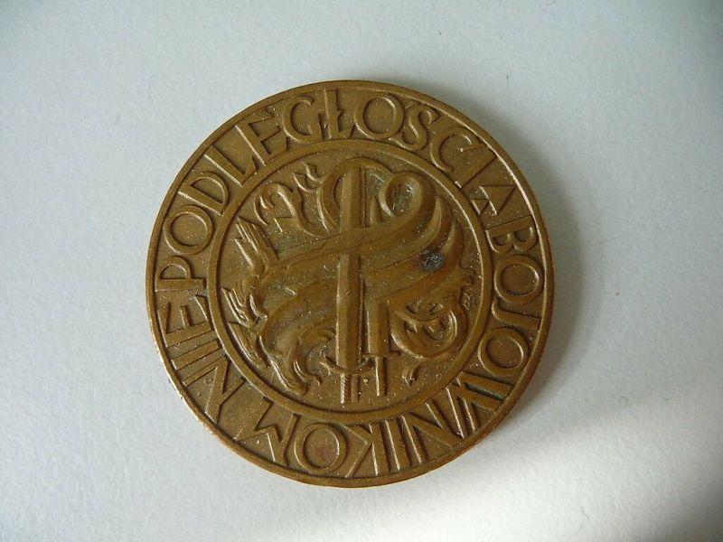 Polnische Medaille