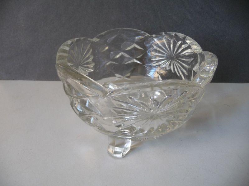Runde Glasschale Konfektschale