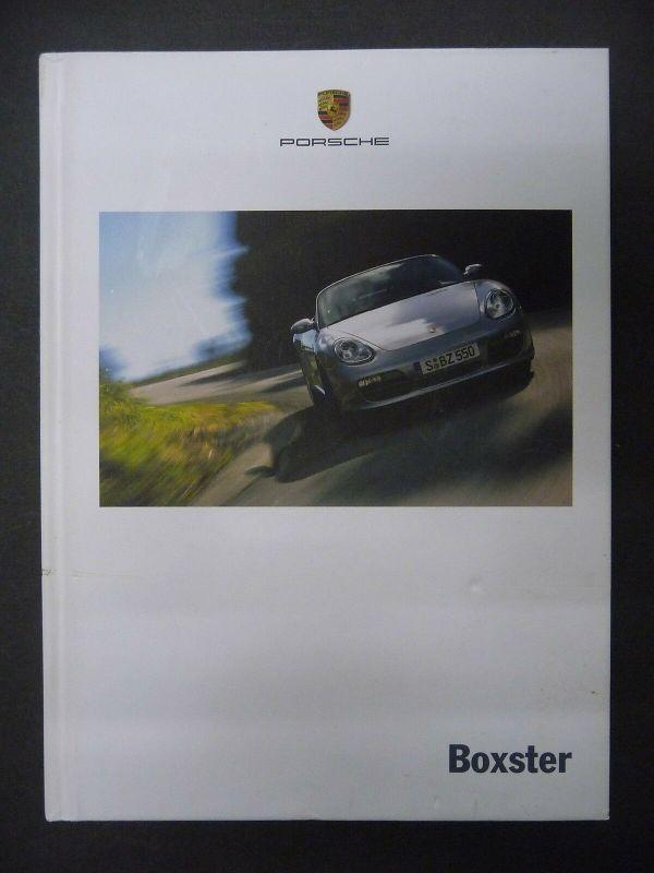 Buch Porsche Boxster Werbeschrift Technische Daten 2007