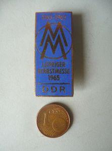Abzeichen Anstecknadel Brosche Herbstmesse Leipziger Messe 1965