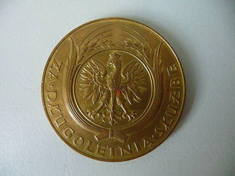 Polnische Medaille Za Długoletnią Służbę 10 Jahre