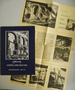 Broschüre Albert Herold Werke und Bauten Vogtlandmuseum Plauen 1964