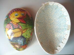Großes Osterei zum Befüllen Füllbox Candybox