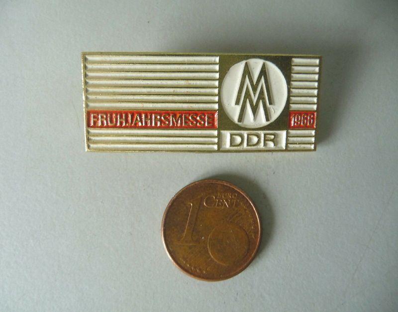 Abzeichen Anstecknadel Brosche Frühjahrsmesse Leipziger Messe 1966