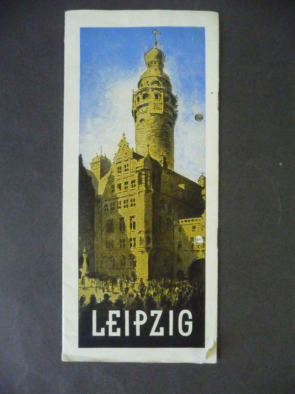 Orig. Reiseprospekt Leipzig / IPA Pelzfach-Ausstellung 1930
