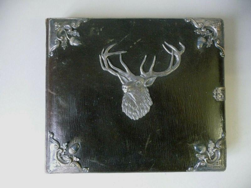Altes Jagdbuch Jagdkalender für Eintragungen