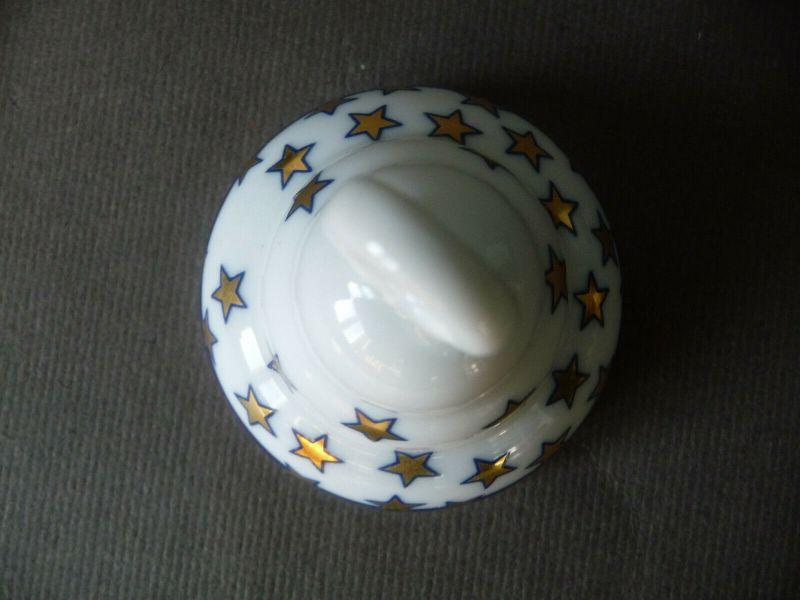 Kleine Glocke Weihnachts-Glöckchen / Arzberg Porzellan 2