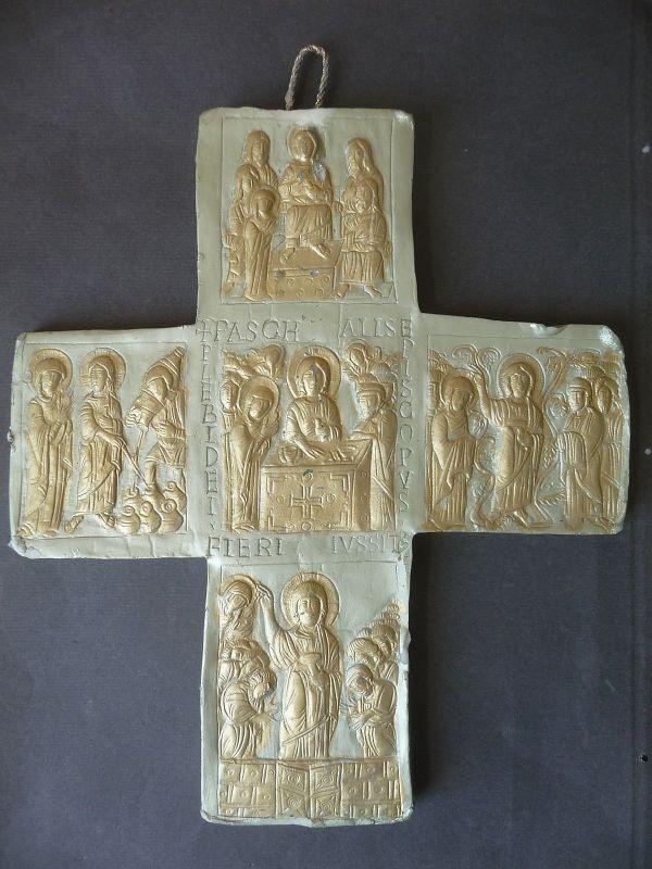 Wachsbild Wachskreuz nach Original / Morsa Wachskunst Handarbeit