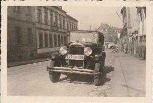 Orig. Foto Oldtimer Limosine Sachsen ca. 1930