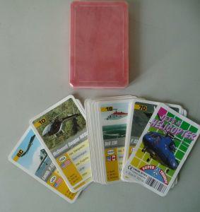 Quartettspiel Kartenspiel Jets und Helikopter Super-Trumpf F.X. Schmid