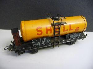 Modelleisenbahn Güterwagen Tankwagen Shell / Trix Modell