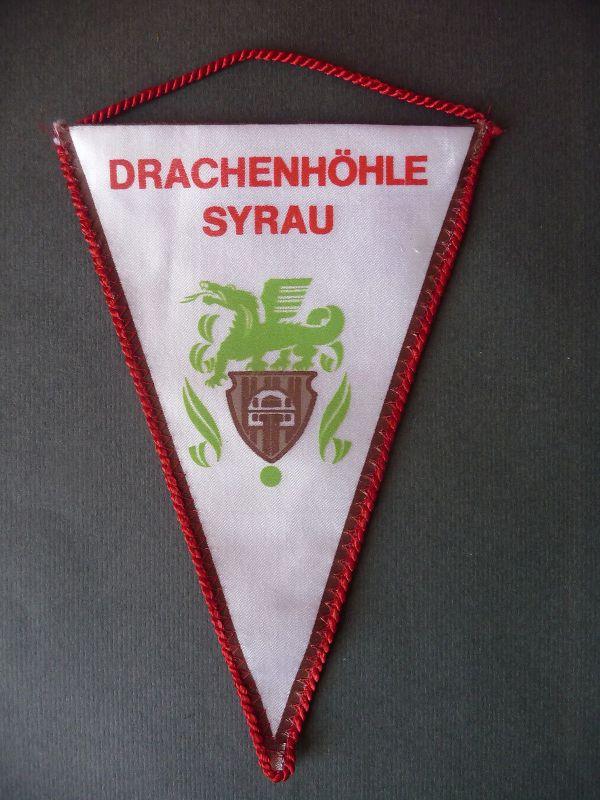 Wimpel Syrau Vogtland Drachenhöhle