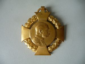 Militär-Jubiläumskreuz 1908 / Orden Auszeichnung Österreich ohne Band