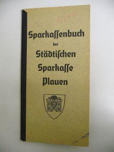 Sparbuch Sparkassenbuch Sparkasse Plauen Vogtland 1941