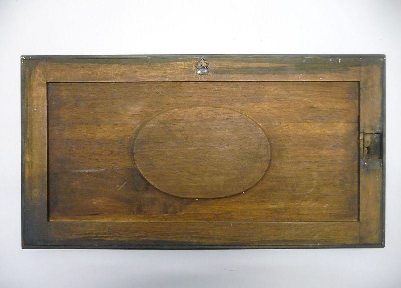 Prächtige Holztafel Holzpaneel mit Verzierungen Gründerzeit Historismus 2