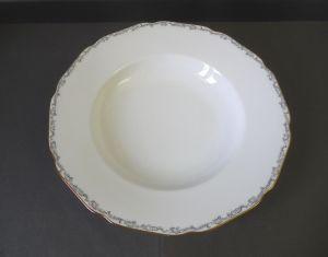 Suppenteller Service Goldrand / Hutschenreuther Hohenberg Porzellan