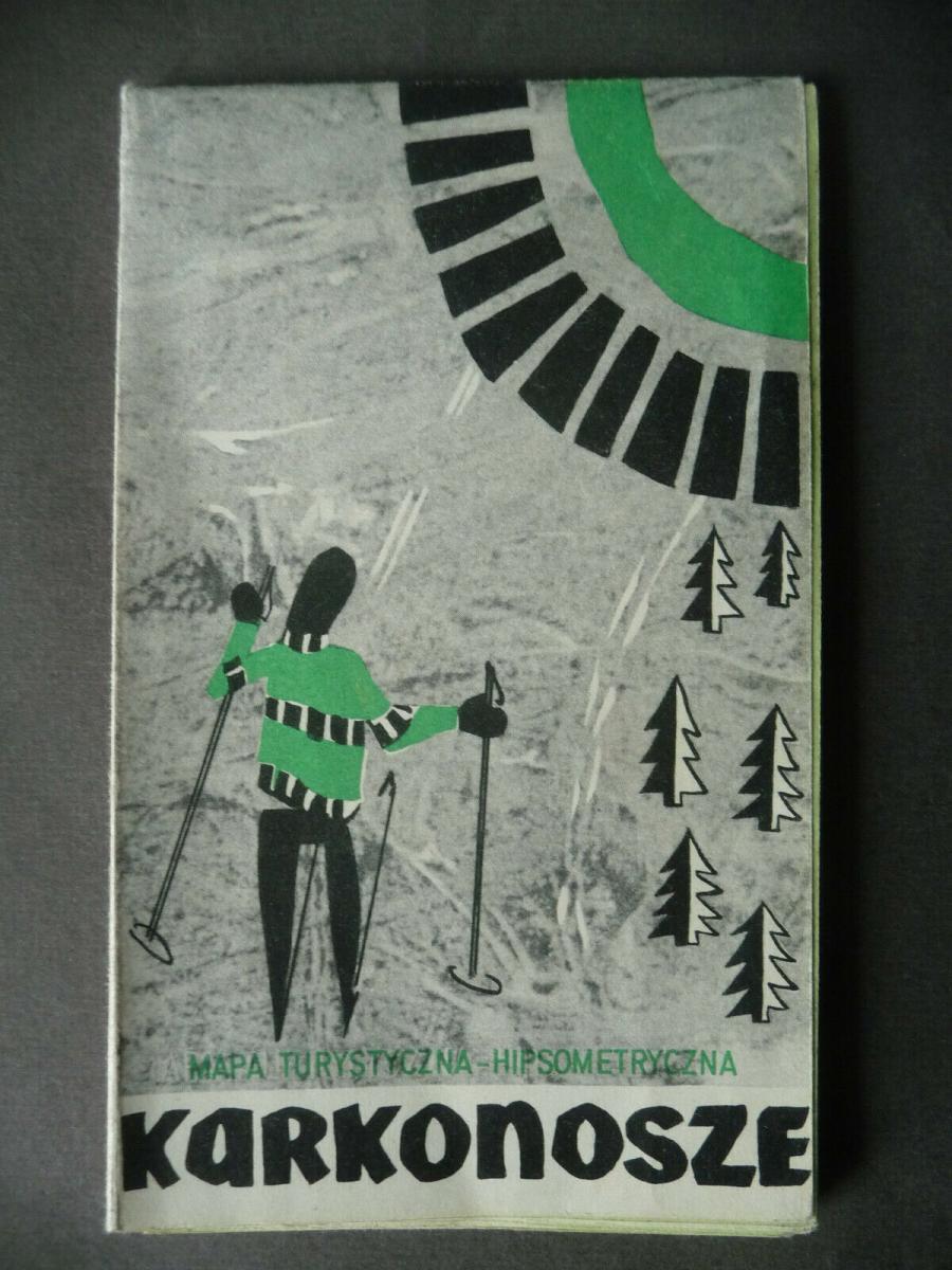 Wanderkarte Karkonosze Riesengebirge 1970