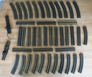 Konvolut 44 x Gleis Schienen Pico-Express / Modellbahn H0