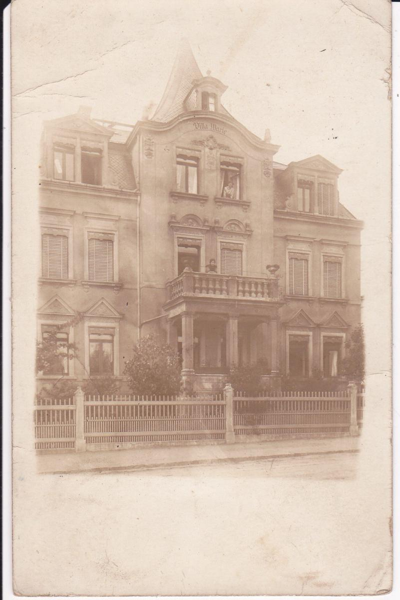 Orig. Foto Haus Gebäude
