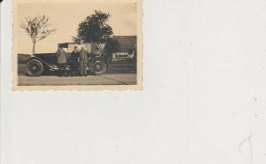 Orig. Foto Oldtimer Limousine Personen ca. 1930