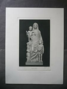 Kunstdruck Madonna / Joseph Fassnacht ca. 1910