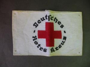 Armbinde Deutsches Rotes Kreuz DRK WKII