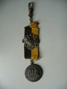 Medaille mit Band Erinnerung Weltkrieg / Viribus Unitis / Österreich-Ungarn