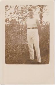 Orig. Foto Porträt Turner im Trikot ca. 1920