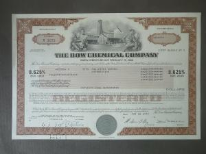 Anleihe Pfandbrief Debenture Dow Chemical Company 1978