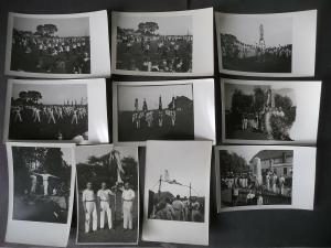 10 Orig. Fotos Turnverein Turner Jößnitz b. Plauen Vogtland ca. 1930