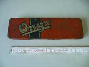 Alte Blechdose Stiftdose