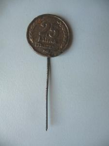 Anstecknadel Pin Abzeichen 25 Jahre Mazda