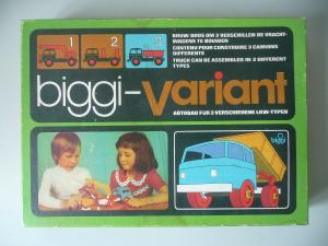 Biggi Variant Autobaukasten LKW / Tabarz Spielzeug