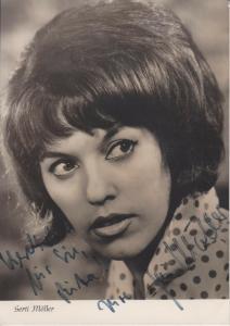 Autogrammkarte Gerti Möller / Schlagersängerin Chansonnette DDR  Foto ca. 1960